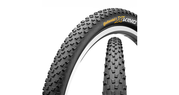 Continental X-King ProTection 29er opvouwbare band zwart